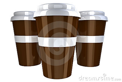 Plastic coffee cup