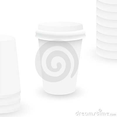 Free Plastic Cup Illustration Stock Images - 8347784