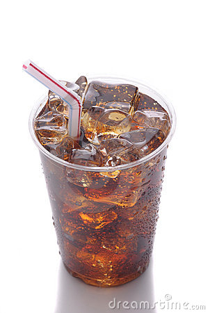 Plastic Cup with Soda