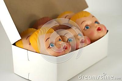 Plastic Doll Faces