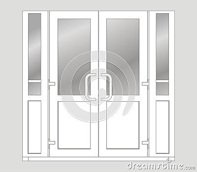 Plastic Door Royalty Free Stock Image Image 12174526