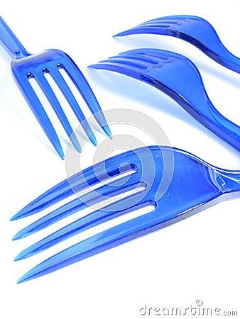 Free Plastic Forks Stock Photo - 6056010
