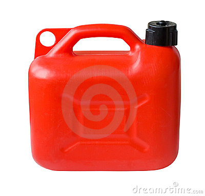 Free Plastic Gas Can Stock Photo - 16926960
