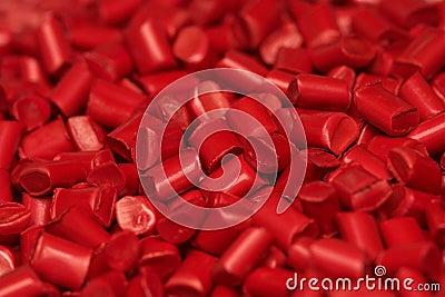 Plastic granules granulates pellets