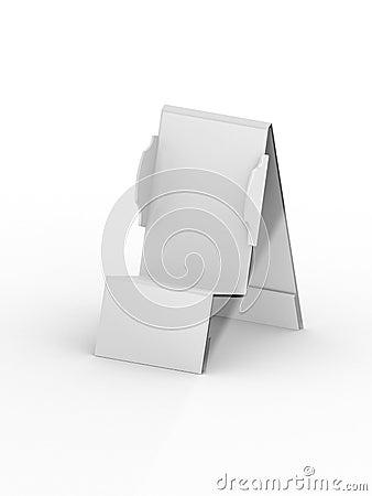Plastic holder for mobile phone