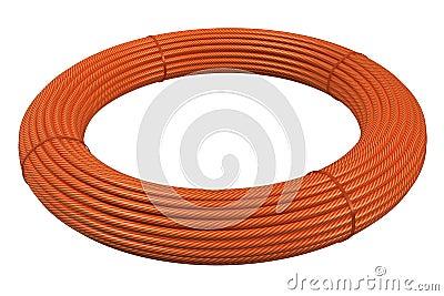 Plastic hose rolls