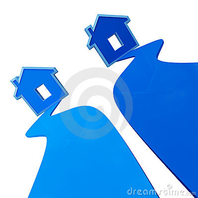 Plastic house background 02