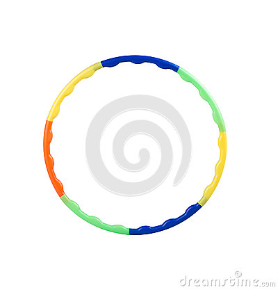 Free Plastic Hula Hoop Stock Photos - 25557373