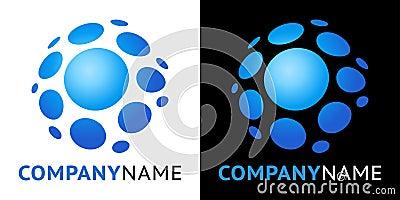 Plastic icon and logo design