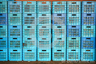Plastic krat stock fotografie afbeelding 35391272 - Krat met appel ...