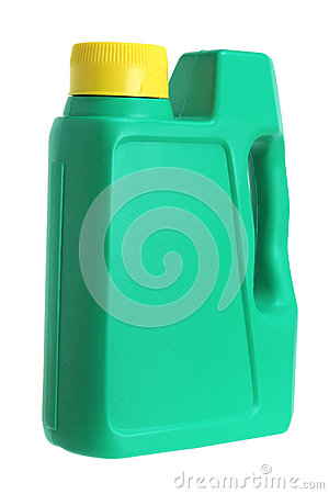 Free Plastic Oil Bottle Royalty Free Stock Photography - 24825877