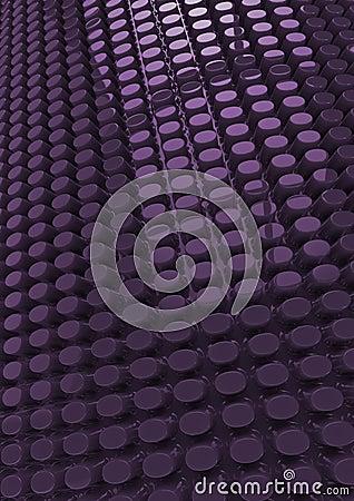Plastic padding background