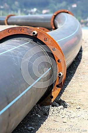 Free Plastic Pipeline Royalty Free Stock Photos - 9268128