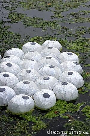 Plastic Plant Life Pods