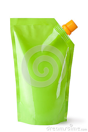 Free Plastic Pouch With Batcher Stock Photography - 33152692