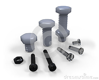 Plastic screws