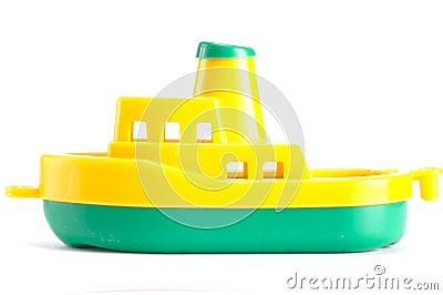 Plastic ship