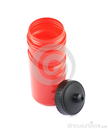 Free Plastic Sport Water Bottle Isolated Stock Images - 91980524