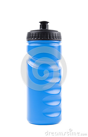 Free Plastic Sport Water Bottle Isolated Stock Image - 92955181