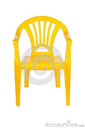 Plastic stoel