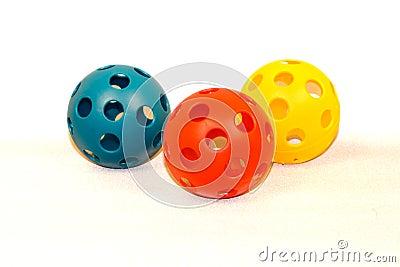 Plastic Toy Baseballs v1