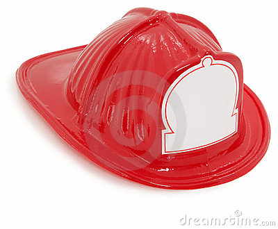 Plastic Toy Fire Fighter Hat
