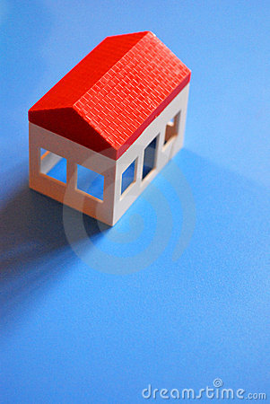 Plastic toy house