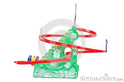 Plastic toys for small children