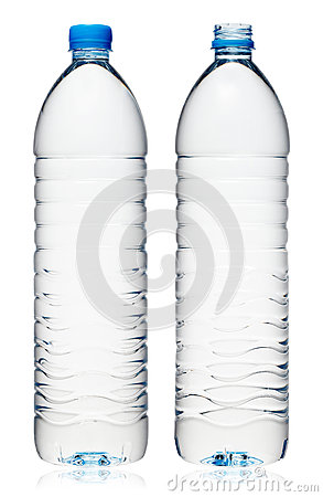 Free Plastic Water Bottle Stock Photo - 55804480