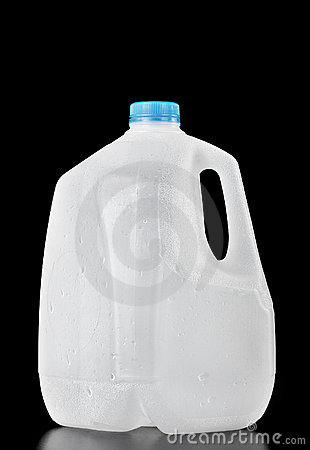 Free Plastic Water Bottle Of One Gallon Stock Photography - 12864672