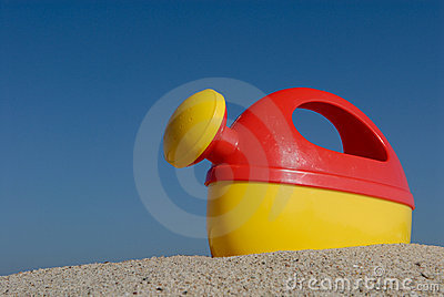 Plastic Watering Can Beach Toy