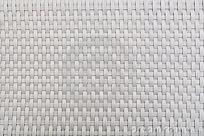 Plastic weave pattern