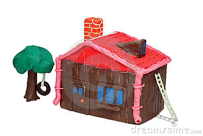The Plasticine house