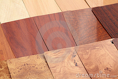 Plastics for the furnishing - wood