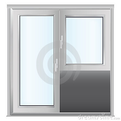 Plastics glasses door