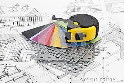 Plastics, PVC, perforated metal, plans