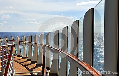 Plataforma do navio de cruzeiros