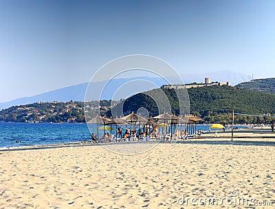 Platamon beach, Greece