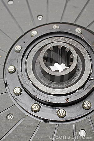 Plate clutch isolated