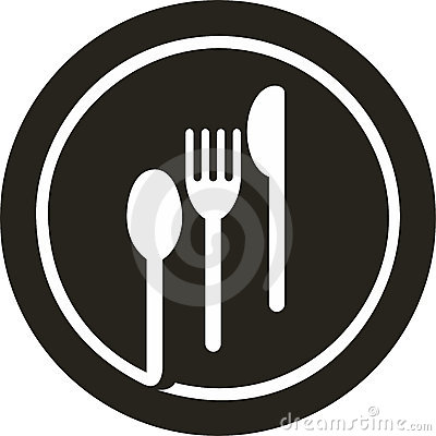 Plate fork, knife, spoon