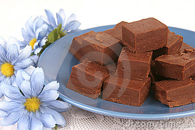 Plate of Fudge 1