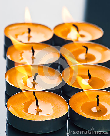 Plate groups candles