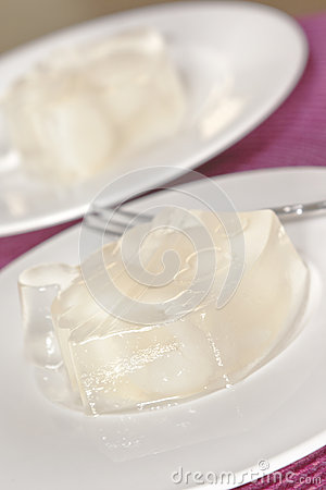 A plate of jelly