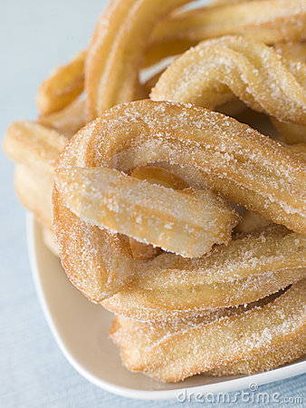 Free Plate Of Churros Stock Photos - 5949963
