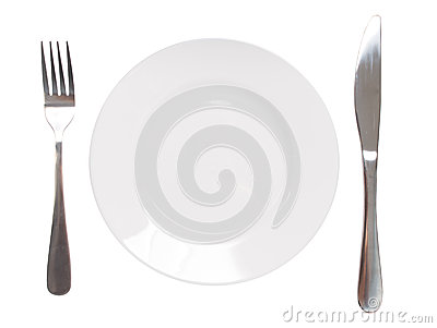 Plate and utensil