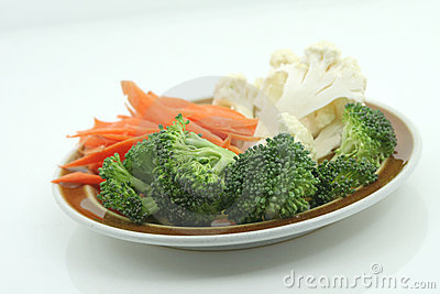 Plate of veggies
