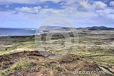 Plateau on Easter Island