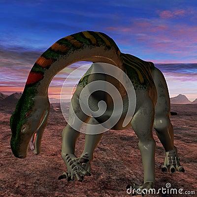 Plateosaurus-3D Dinosaur