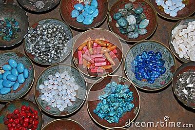 Plates Full Of Stones
