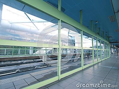 Platform of MRT